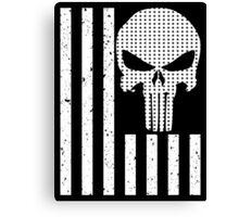 american sniper flag Canvas Print