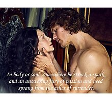 Outlander/In body or soul, somewhere... Photographic Print
