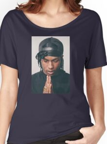 asap rocky praying Women's Relaxed Fit T-Shirt