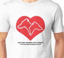 Hounds on Heart Unisex T-Shirt