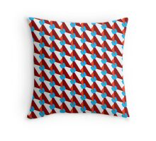Trendy geometry pattern Throw Pillow