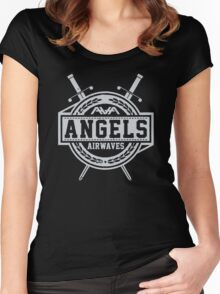 Angels airwaves Women's Fitted Scoop T-Shirt