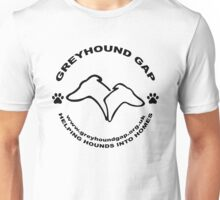 Helping Hounds into Homes Unisex T-Shirt