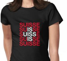 SWITZERLAND Womens Fitted T-Shirt