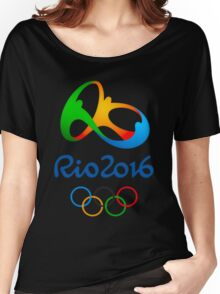Rio 2016 Olympics Women's Relaxed Fit T-Shirt