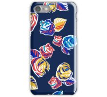 Bright Flowers Pattern iPhone Case/Skin