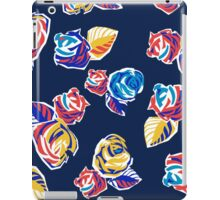 Bright Flowers Pattern iPad Case/Skin