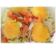 Ecuadorian Vegetables and Potatoes Poster