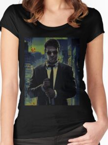 Charlie Cox - devil Women's Fitted Scoop T-Shirt