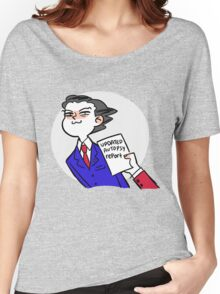 updated autopsy report Women's Relaxed Fit T-Shirt