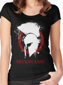 molon labe 2 Women's Fitted Scoop T-Shirt