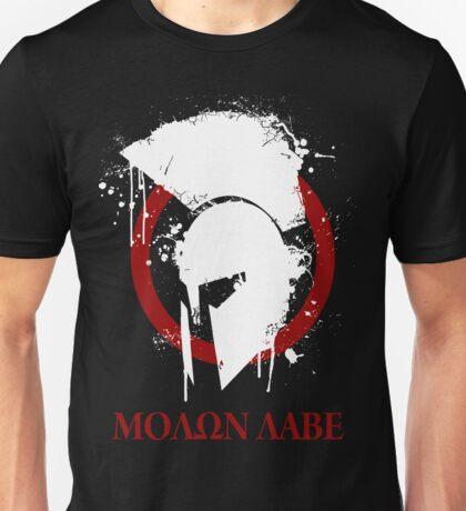 molon labe 2 Unisex T-Shirt