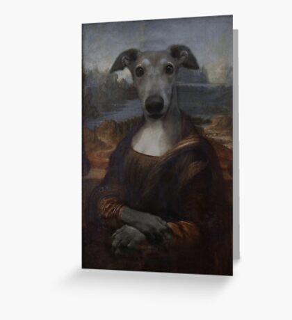 Bone-a-Lisa Greeting Card