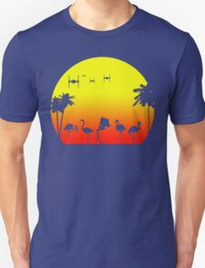 Star Wars Tropical SunsAT-ST Unisex T-Shirt