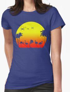 Star Wars Tropical SunsAT-ST Womens Fitted T-Shirt
