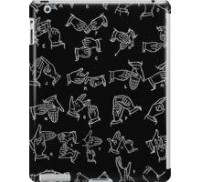 BSL alphabet iPad Case/Skin
