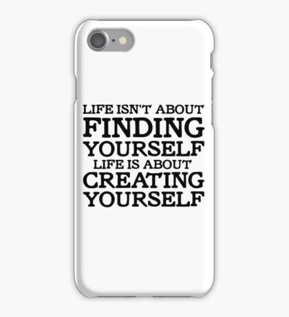 George Carlin Quote Motivational Inspirational Life iPhone Case/Skin