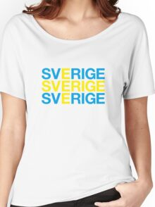 SWEDEN Women's Relaxed Fit T-Shirt