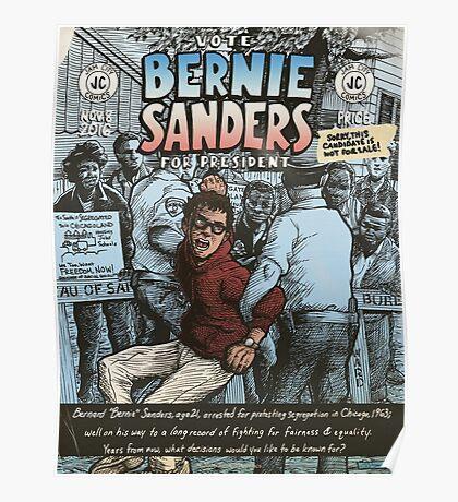 Bernie Sanders Circa 1963 Poster