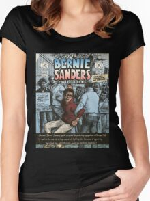 Bernie Sanders Circa 1963 Women's Fitted Scoop T-Shirt