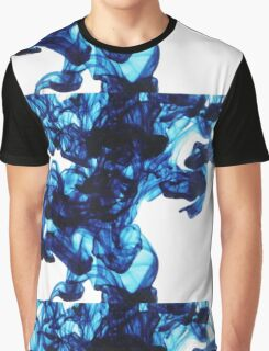 Ink Droplets Graphic T-Shirt