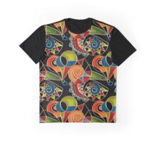 Seamless texture with colorful Arabic pattern  Graphic T-Shirt