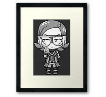 Graphic Maxie Framed Print