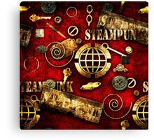 Texture background in Grunge style. Canvas Print