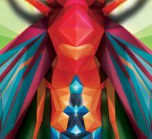 Neo Triangle Bug Design Sticker