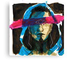 Blind Prophet Canvas Print