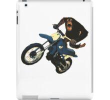 Monkey on a Dirt Bike iPad Case/Skin