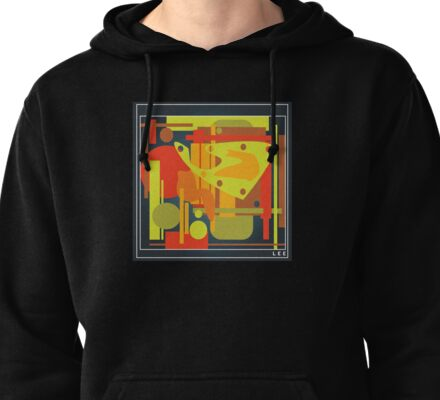 Picasso Lives Pullover Hoodie