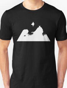 S vs B white Unisex T-Shirt