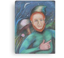 A Leprechaun I Spied Canvas Print