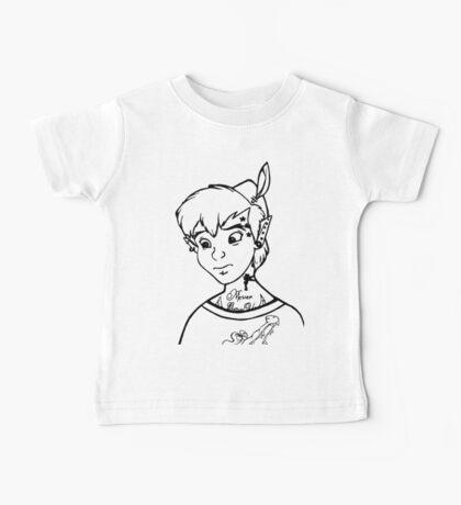 Punk'd Peter Pan Baby Tee