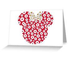Minnie Daisies Greeting Card