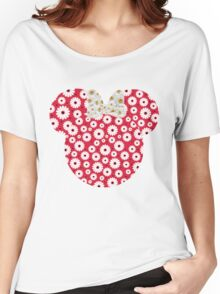 Minnie Daisies Women's Relaxed Fit T-Shirt
