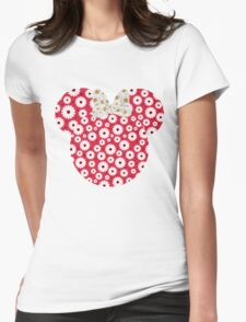 Minnie Daisies Womens Fitted T-Shirt