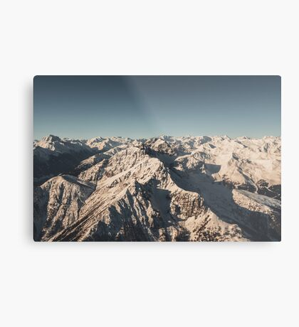 Lord Snow - Landscape Photography Metal Print