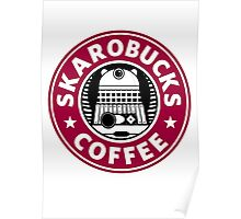 Skaro Coffee red Poster