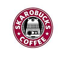Skaro Coffee red Photographic Print