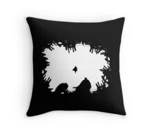S vs B #2 white Throw Pillow