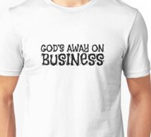 God Religion Tom Waits Quote Music Lyrics Atheism Unisex T-Shirt