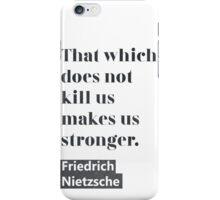 Friedrich Nietzsche quote C iPhone Case/Skin