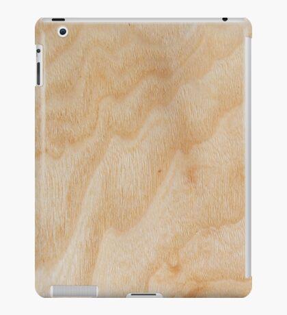 Unique rotary birch yellow wood design iPad Case/Skin