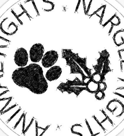 NARGLE RIGHTS Sticker