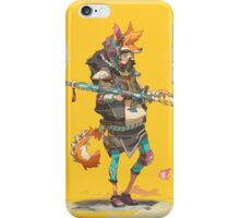 Fury Beats - Lily Slash Yellow iPhone Case/Skin