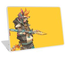 Fury Beats - Lily Slash Yellow Laptop Skin