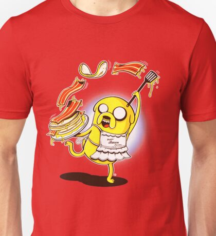 Jake Adventure Time Bacon Unisex T-Shirt