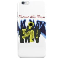 Patriot- Patriot Low Brass iPhone Case/Skin